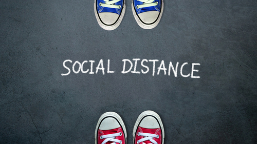 Social Distancing and Romance